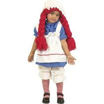 Disfraz Niño Traje De Niño Del Niño Muñeca De Trapo Chica D
