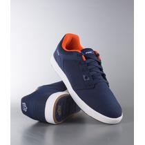 Tenis Fox Racing Motion Scrub Fresh Azul Naranja Bmx