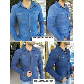 Camisa En Jean Slim Fit Y Normal Ata & Lug Originales Promo