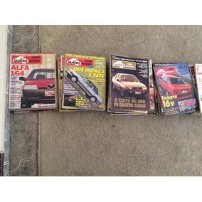 Pack De Duas Revistas Quatro Rodas Frete Pago