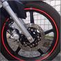 Friso Adesivo Refletivo Curvo Moto + Brinde - 5mm - Mktuning