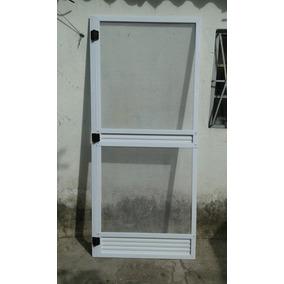 Puerta Mosquitero 85 X 200 Blanca