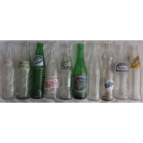 Lote Com 10 Garrafas Pop Laranja Pepsi Coca-cola Fanta - L26