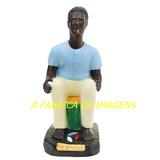 Estatua Pai Benedito Mae Benedita Quebra Demanda Imagem