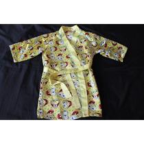 Bob Esponja Batita De Satin Para Niña O Niño Talla 7/8 Años