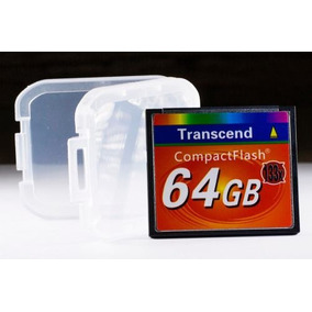 Cartão Memória Compact Flash 64gb Transcend