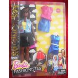 Barbie Emoji Fun Fashionista Afroamericana Curvy