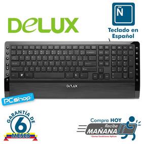 Teclado Multimedia Usb - Ps2 Delux K1900 Nuevo Garantia