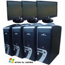 Computadora Completa Con Teclado Mouse Monitor Cpu