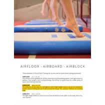 Paquete Airboard De Airtrack Factory. Parkour, Yoga,