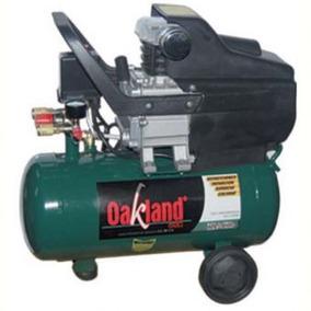 Compresor 2.5hp 25lts 116psi Oakland Embobinado Cobre 3697