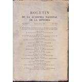 Boletin De La Academia Nacional De La Historia Nº Xxx 1959