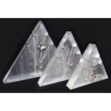 Exhibidor Acrilico Transparente Trio Cadenas Dijes Suxes