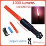 5 Mini Lámparas Tácticas 1000 Lm Cree Led Q5 C/cono Mayoreo