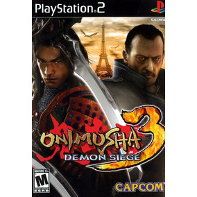 Onimusha 3: Demon Siege Patch Ps2 Playstation 2