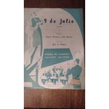9 De Julio Tango - Partitura Edición Años 60s