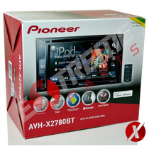 Dvd Pioneer Avh-x2780bt + Moldura 2-din Civic 2006 2007 2008