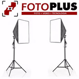 Kit Iluminación Led P/ Estudio De Foto Video Tv Luz Continua