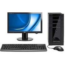 Computador Intel Core + Monitor 17 Polegadas Lcd Com Wifi