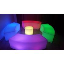 Salas Lounge Led Lampara Vip Iluminadas Puff P/bares Antros