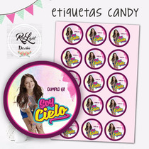 Etiquetas Personalizadas Candy Bar Souvenirs