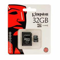 Cartão Memória Micro Sd 32gb Classe 4 Kingston