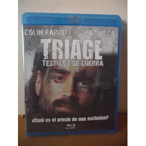 Triage Blu Ray Movie Pelicula Colin Farrell Paz Vega