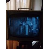 Antiguo Tv Tubos General Electric 19¨1961 Portable A Blanco