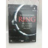Box Dvd Quadrilogia Ring - O Chamado - Original Japonês