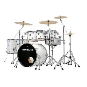 Bateria Acústica 2 Tons 2 Surdos Nagano Drums Full Celulloid
