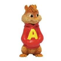 Mini Figuras Alvin E Os Esquilos - Boneco Alvin - Bbr Toys