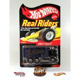 Hot Wheels Real Riders Hiway Hauler Exclusivo Ruedas Goma