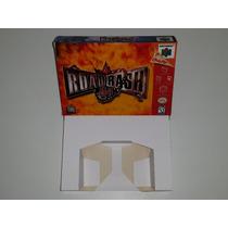 Caixa Road Rash 64 + Berço Incluso, Nintendo 64!!!!
