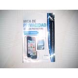 Wwow Mica De Privacidad Lg L4x Optimus Excelentes!!!