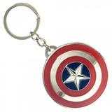Llavero Rotador Capitan America Ambos Lados Avengers Marvel