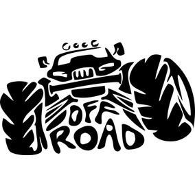 Adesivo Vinil Auto Off Road 26x16 Cm Carro 4x4 - Frete Fixo