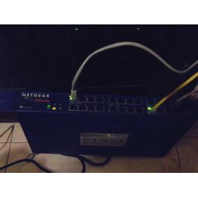 Switch Netgear 24 Puerto Modelo: En 524