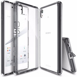 Capa Ringke Fusion P/ Sony Xperia Z5 / Dual + Película Vidro