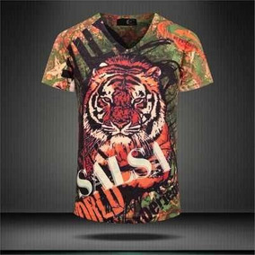 Camisa T-shirt Vintage Tigre Gg Luxo