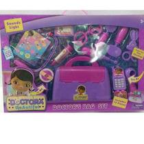 Maleta Doutora Brinquedos Com Acessórios 11 Peças Kit Médico