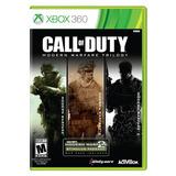 Call Of Duty Modern Warfare Trilogy 3 Jogos. 3 Dvds Xbox 360