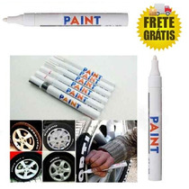 Canetas P/ Pintar Pneus De Carro Ou Moto - Frete Grátis
