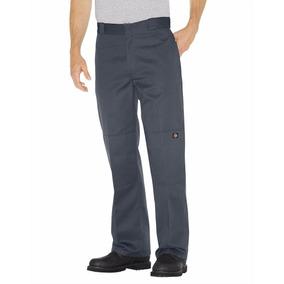 Dickies 85-283 Pantalón Doble Rodilla Uso Rudo Gris Oxford