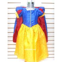 Disfraz Blanca Nieves Vestido Princesa Cenicienta Rapunzel
