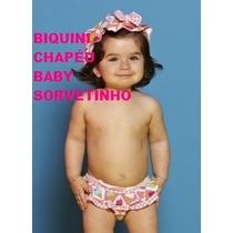 Biquíni Chapéu Baby Sorvetinho Puket