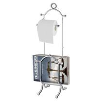Porta Papel Higienico Y Revistero Metal Baño Good And Good