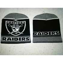 Gorro Tipo Bonete Nfl Raiders Oakland Envío Gratis