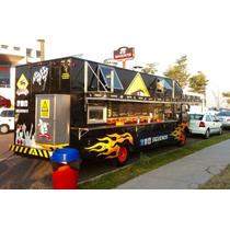 Food Truck En Venta De 4 Ton Gmc Equipado En Acero Inox