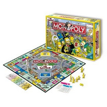 Monopoly Simpsons Orig Jgo Mesa Hasbro / Open-toys Avell 47