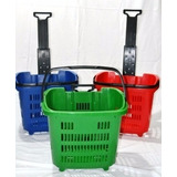 Carro Chango Plastico Autoservicio Supermercados Reforzado